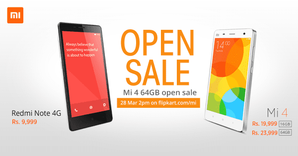 Xiaomi ditches flash sale strategy, Xiaomi Mi 4 and Mi Pad to be available on open sale