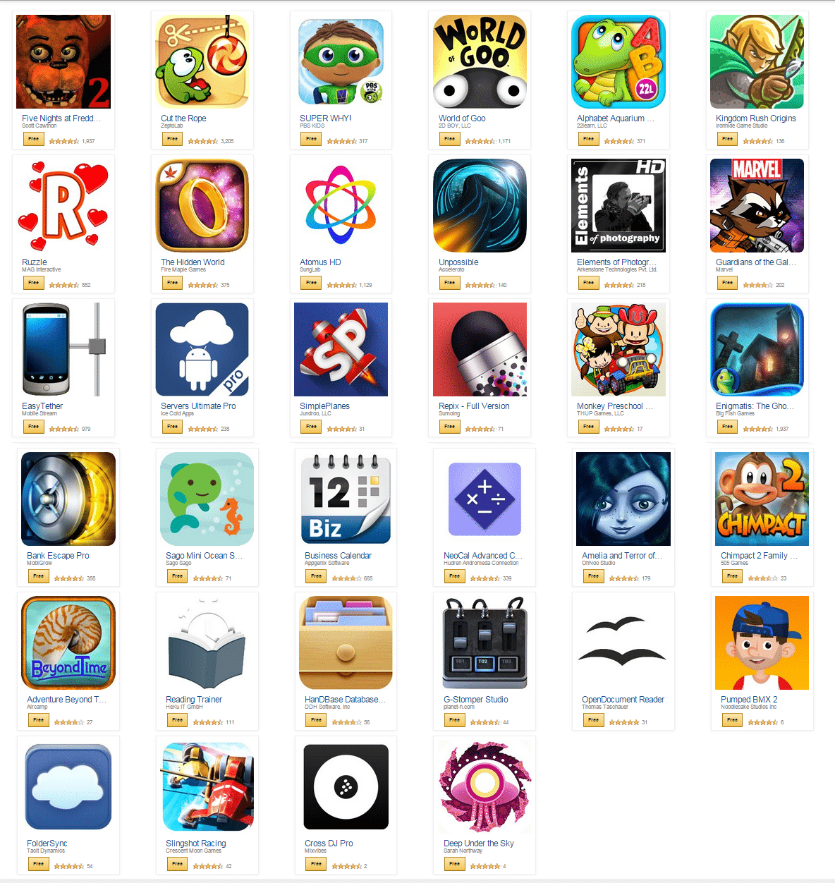Download Android app for Free from Amazon's Free Giveaway