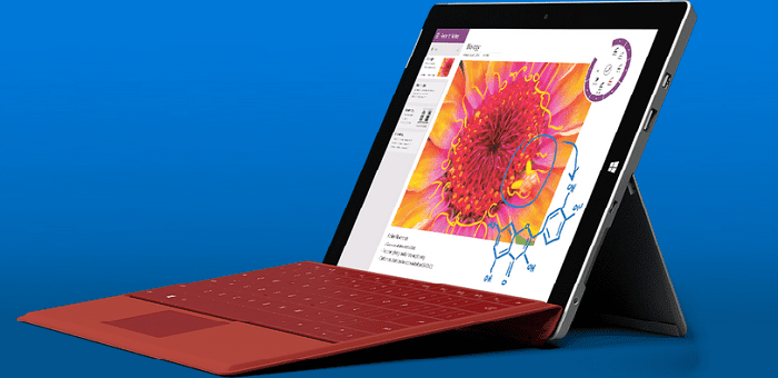 "Microsoft announces ""Surface 3"" a low cost tablet which gives full experience of a laptop for a price of $499"