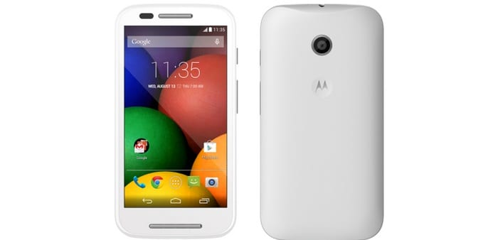 4G version of Motorola's Moto E 2nd Generation will be launched in India by May