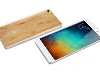 Xiaomi Mi Note Natural Bamboo edition launched and will be available in China from March 24th