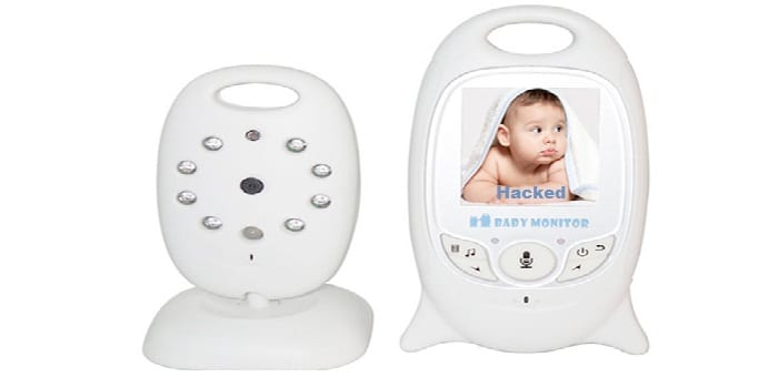 Family scared due to strange messages left in baby's hacked monitor
