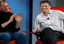 Bill Gates summarizes in short the dissimilarity between him and Steve Jobs