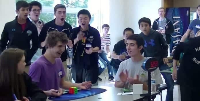 Pennsylvania teen sets a new world record of solving the Rubik's cube in 5.25 seconds!!