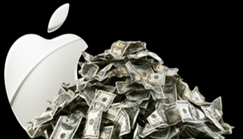 Apple has $193.5 billion cash with which it can afford to buy some of the World's biggest companies.