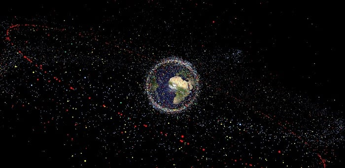 Japanese researchers plan to obliterate space debris by shooting space lasers at it
