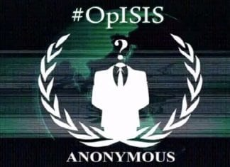 #OpISIS Anonymous release list of 70 pro ISIS websites and 14000 of Twitter ids