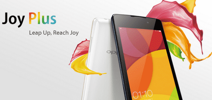 Oppo Joy Plus priced at Rs 6,990.00 launched for Indian buyers