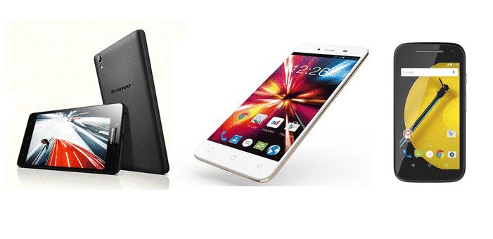 Lenovo A6000 Plus vs Motorola Moto E (2nd Gen) 4G vs Micromax Canvas Spark; a comparative study