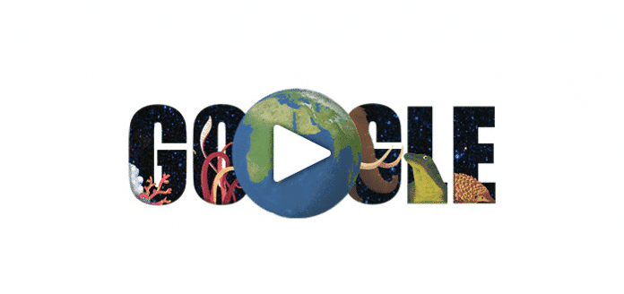 Google celebrates Earth Day 2015 with its new Google Doodle quiz that tells