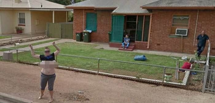 Google censors mum who got bared her breasts to Google Street View
