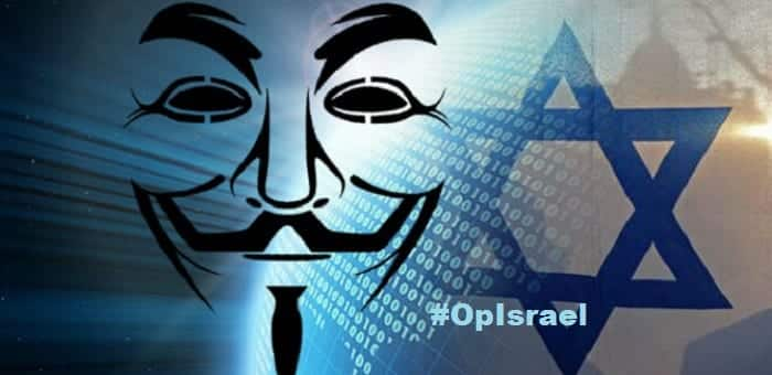 #OpIsrael #ElectronicHolocaust Anonymous Dump Israeli Email and Facebook credentials and Payment card data