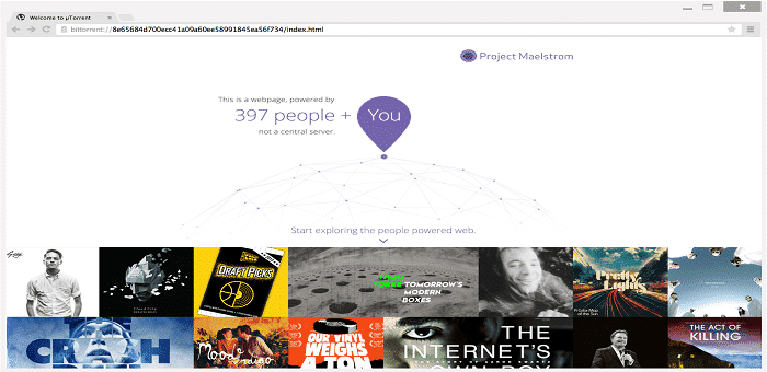 """BitTorrent launches its P2P-powered torrent based browser """"Project Maelstrom"""" in a public Beta"""