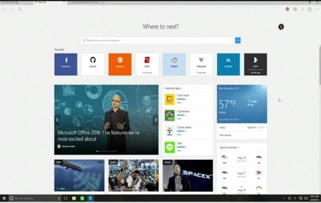 Microsoft Windows 10 : Project Spartan is revealed as Microsoft Edge, to replace Internet Explorer