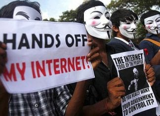 Anonymous India bring down TRAI website for revealing 1 million petitioners email ids
