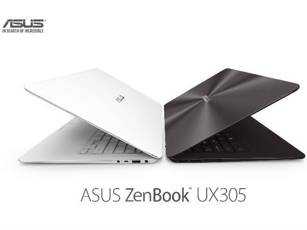 Asus ZenBook UX305 is the world's slimmest 13.3-inch laptop priced at Rs.49,999 to take on Apple's MacBook Air