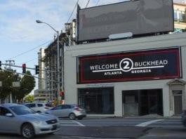 Buckhead Billboard hacked to show nude images of man between ads
