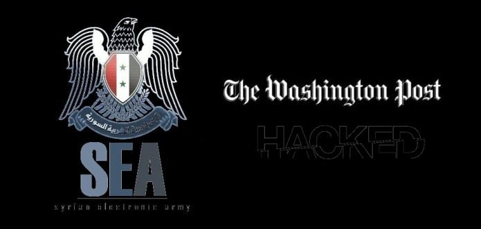 Syrian Electronic Army Hacks the Washington Post and redirects users to a SEA website