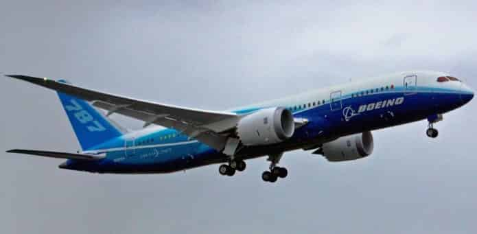 Software bug may cause Boeing 787s to lose power mid-air