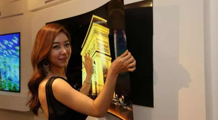LG unveils super-slim 55 inch OLED TV that sticks on wall using MAGNETS
