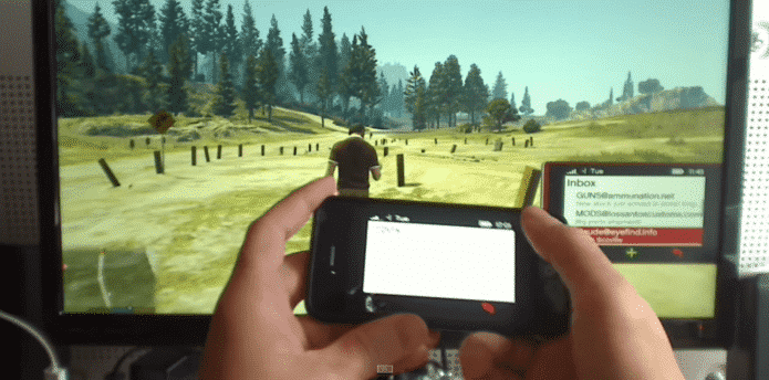 arduino hack lets you control your in game phone in gta 5 from your