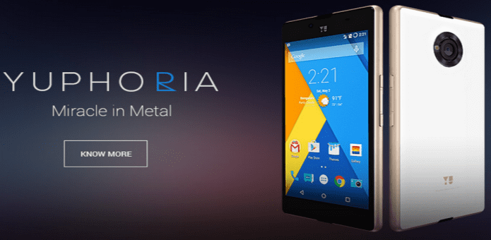 Yu Yuphoria launched with Cyanogen OS 12 and Snapdragon 410