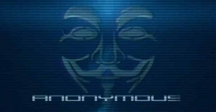 Anonymous down Nazi supporting websites