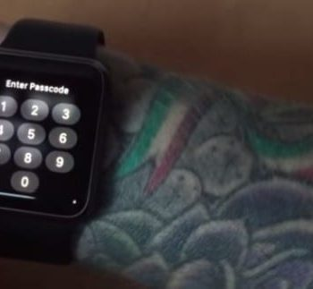 Apple Watch notifications dont work on a wrist with Tattoo