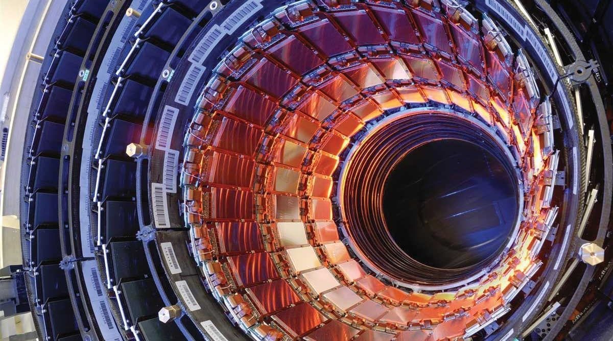 The Large Hadron Collider built by CERN detects an extremely rare particle decay