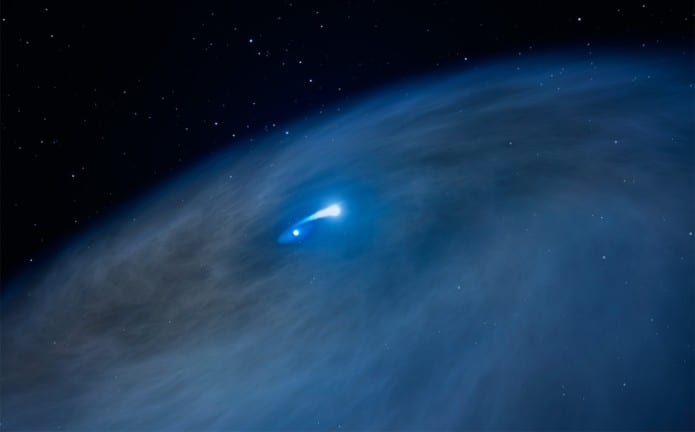 NASA puzzled by 'Nasty 1' a massive, fast aging and mysterious star discovered by Hubble