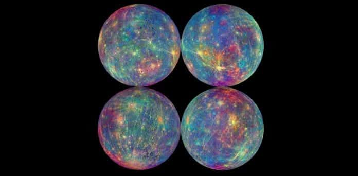 NASA's Messenger spacecraft reveals the age old Magnetic Field and Liquid core of planet Mercury.