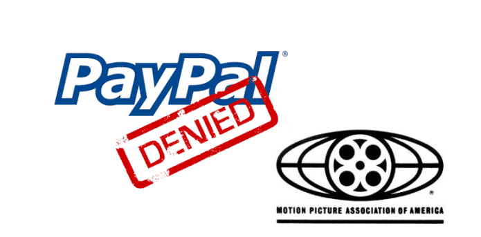 PayPal account of torrent software developer frozen because of MPAA complaint