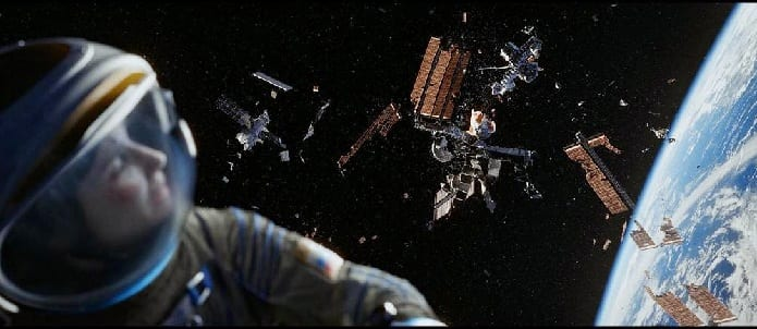 Explosion of US military satellite has led to hazardous smaller space debris which is risky to spacecrafts