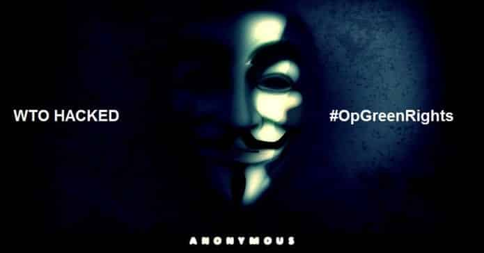 Anonymous hacks World Trade Organisation website and Leaks Data