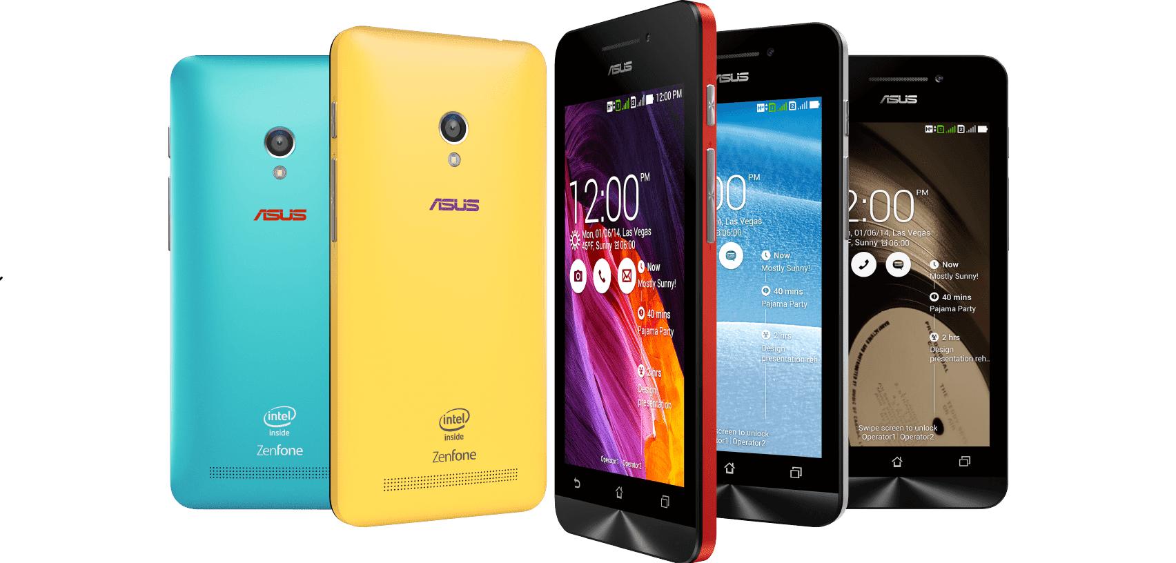 Asus Zenfone 4 Zenfone 5 And Zenfone 6 To Get Android 50