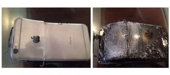Brand New iPhone 6 Explodes During Call, Owner Escapes Unscathed