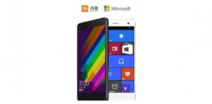 Microsoft released Windows 10 Custom ROM for Xiaomi Mi4 Users to capture Chinese Android marketshare