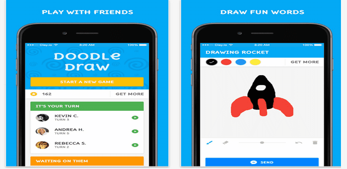 You can now play Doodle Draw game in Facebook Messenger