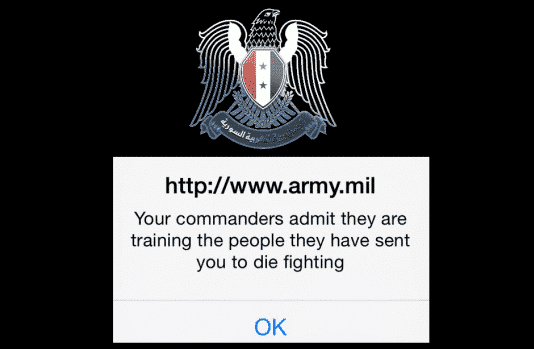 Syrian Electronic Army (SEA) hacks and defaces U.S. Army Website