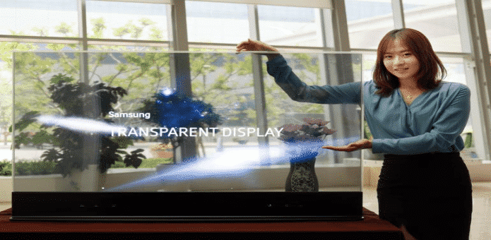 "Samsung Launches New 55 Inch Transparent and Mirror OLED Displays Which Create ""The Magic Mirror"""