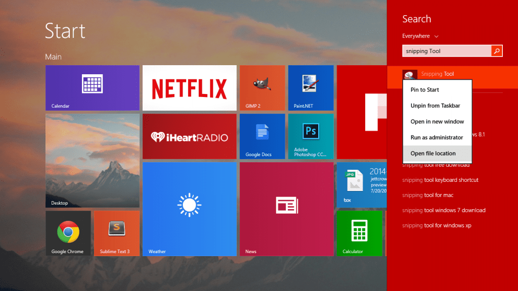 Redditor shows how to take easy screenshots with Windows 8 PC or Tablet through images