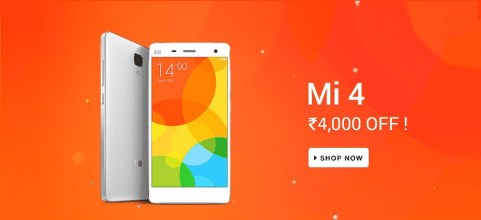 Xiaomi Mi 4 64GB model to be now available for Rs. 19,999 due to price cut