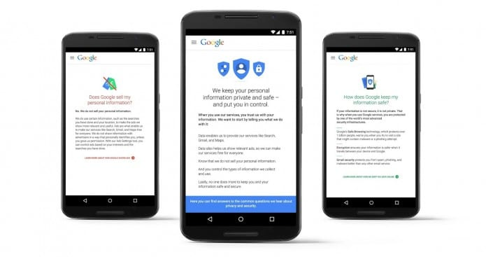 Control, protect, and secure your Google account, all with 'My Account' hub