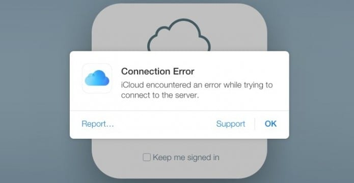 Apple's iCloud and other services facing outage due to some unknown reason