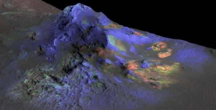 NASA discovers impact glass deposits on Mars; could provide clues to ancient life on Mars