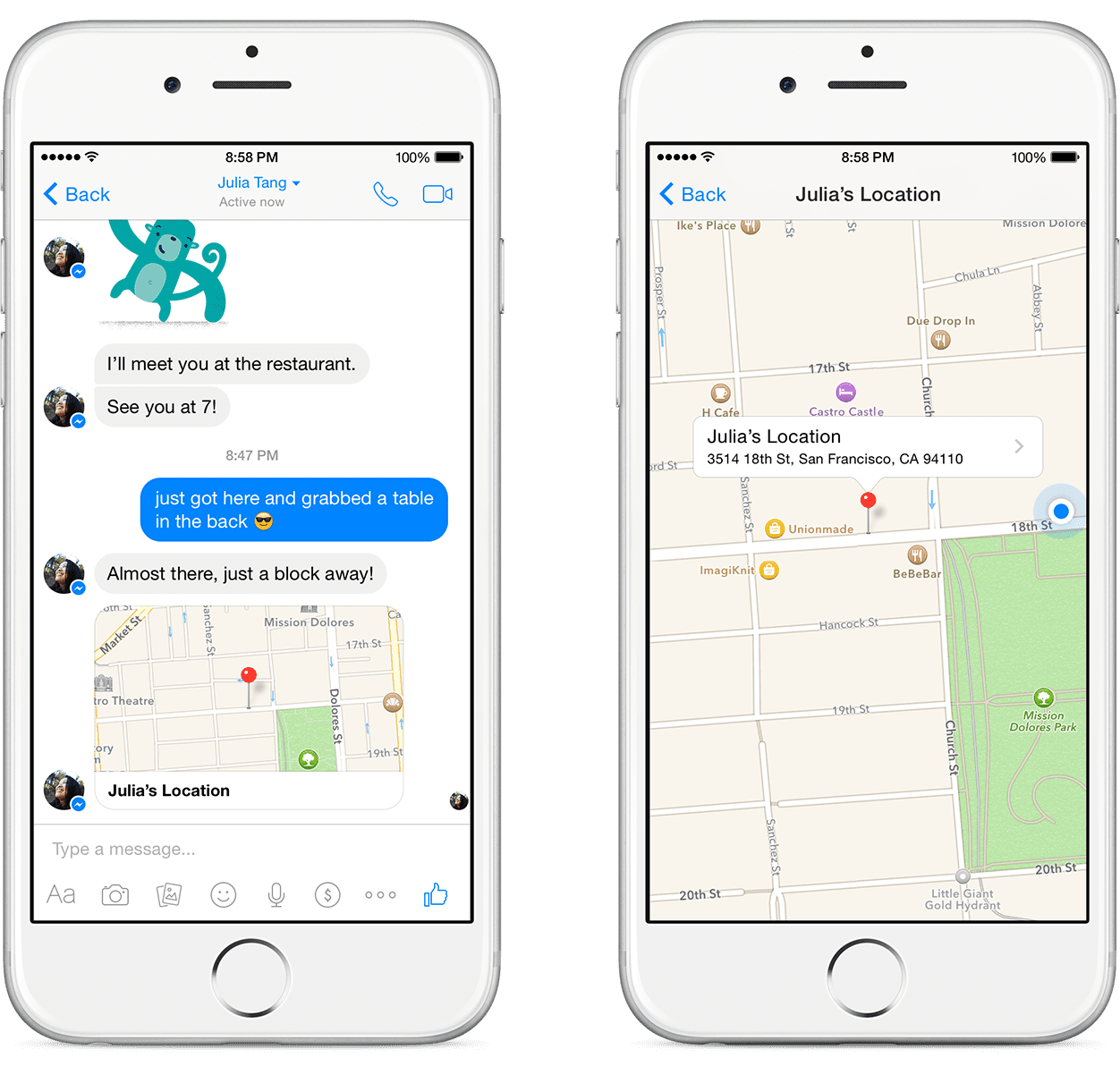 Facebook kills automatic location tracking but lets users share locations on Facebook Messenger