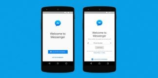 Send messages with Facebook Messenger without creating a Facebook profile