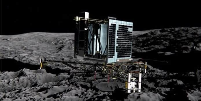'Philae' Robotic Space Lander surprises ESA scientists by waking up and sending signal to Earth