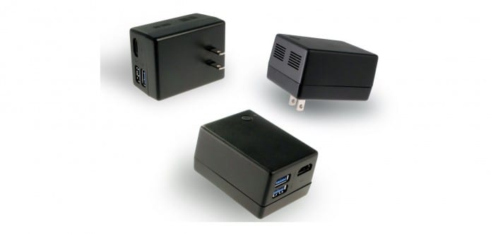 Windows 10 PC inside a power adapter; Microsoft shows off two tiny Windows 10 PCs at Computex 2015