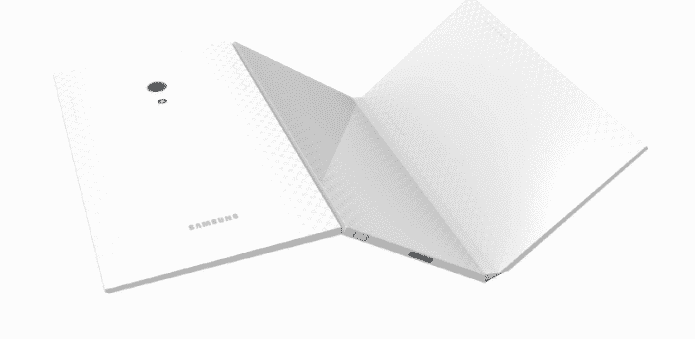 Samsung's Korean patent shows tri-folding tablet design